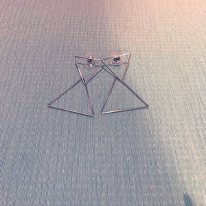 Jewelry - Triangle Earrings